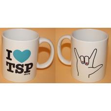 Mugg I LOVE TSP, 1-pack